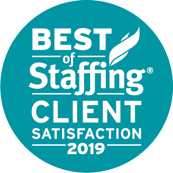 Pace - Best Staffing Client Satisfaction Award